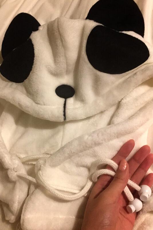 コスプレ用のパンダ