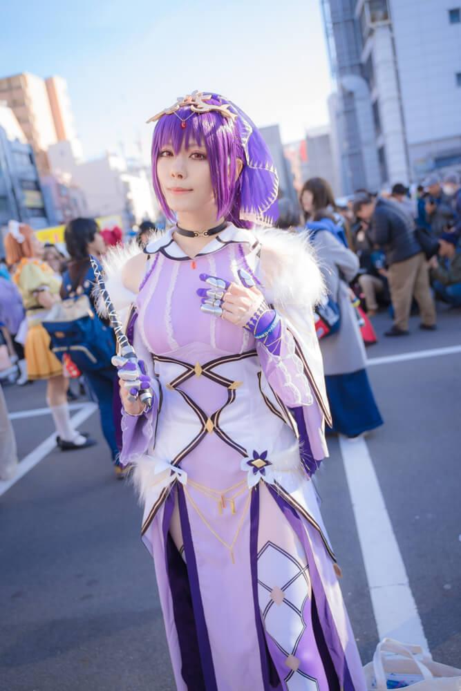 スカサハ=スカディ「Fate/Grand Order」のコスプレをするコスプレイヤー綾瀬さん004
