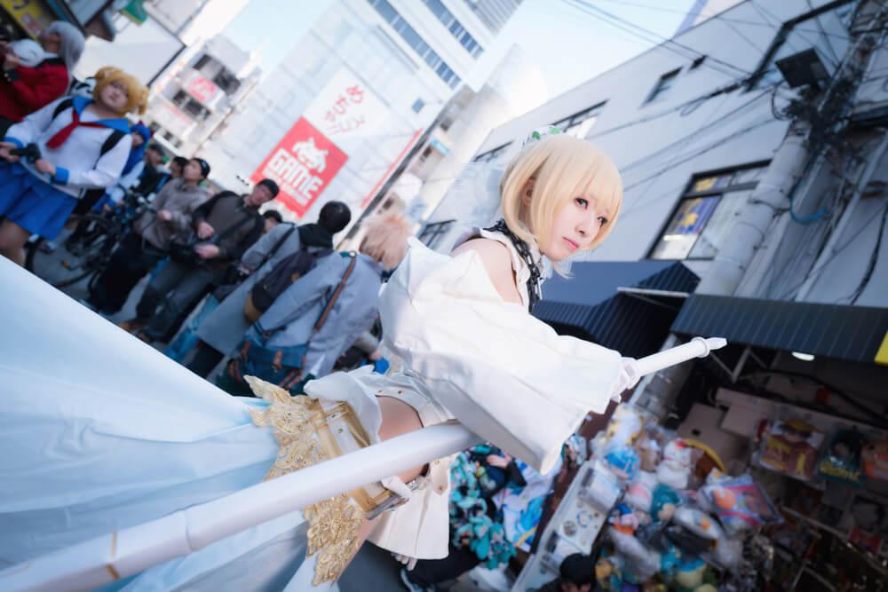 ネロ・クラウディウス〔ブライド〕「Fate/Grand Order」のコスプレをするコスプレイヤー弥太郎さん006