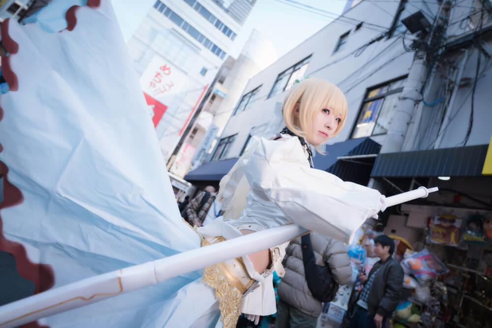 ネロ・クラウディウス〔ブライド〕「Fate/Grand Order」のコスプレをするコスプレイヤー弥太郎さん003