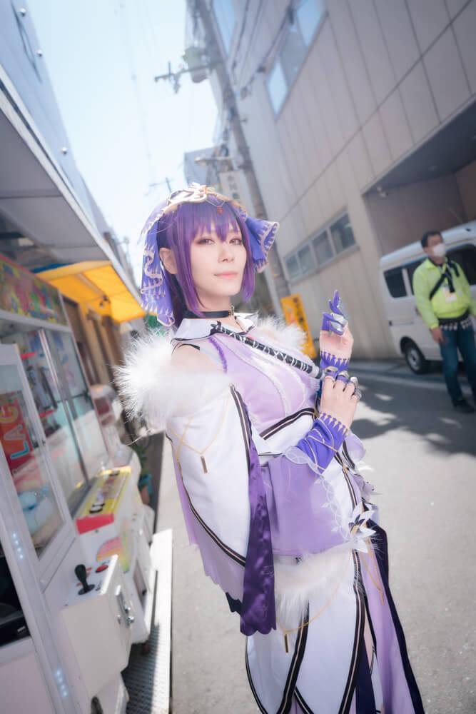 スカサハ=スカディ「Fate/Grand Order」のコスプレをするコスプレイヤー綾瀬さん001