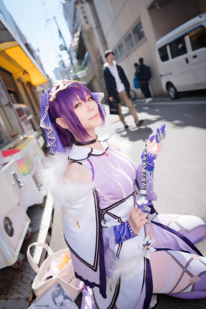 スカサハ=スカディ「Fate/Grand Order」のコスプレをするコスプレイヤー綾瀬さん002