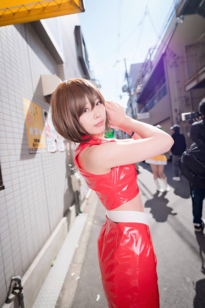 神戸のアイドル「匿名ミラージュ」メンバーのコスプレをするコスプレイヤーこゆたんさん003