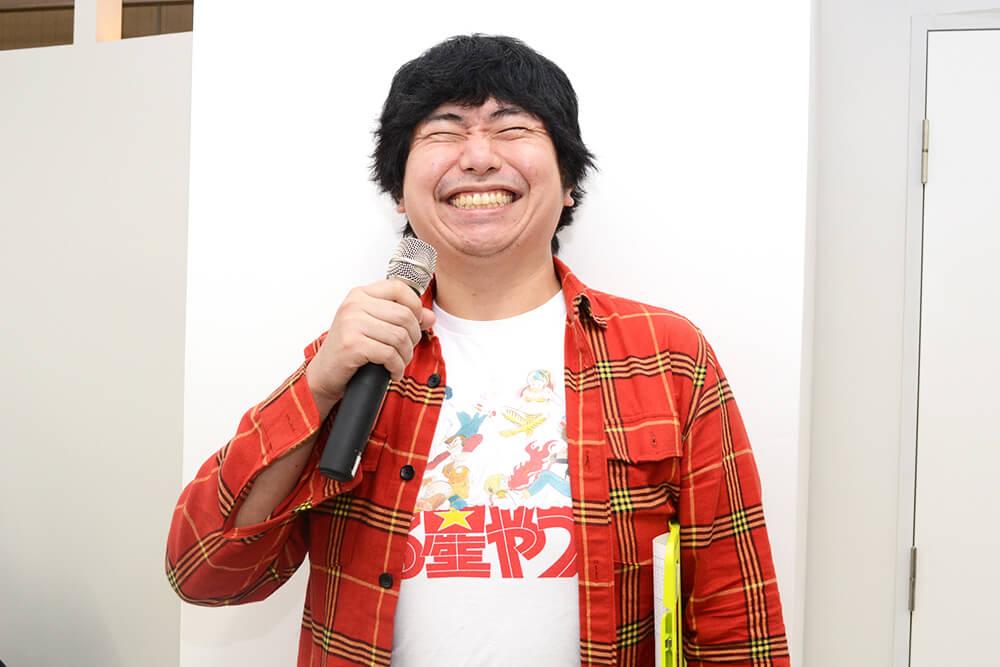 ピン芸人の石津源治さん