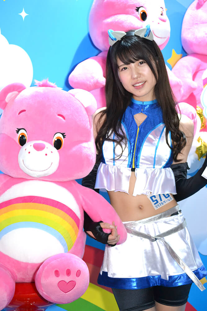 TGS2019会場で撮影したコスプレイヤー一瀬優美さん03