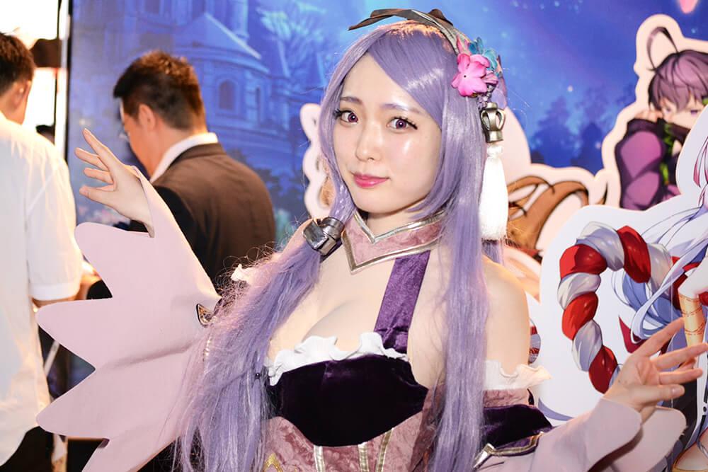 TGS2019会場で撮影したコスプレイヤー星宮せれさん01
