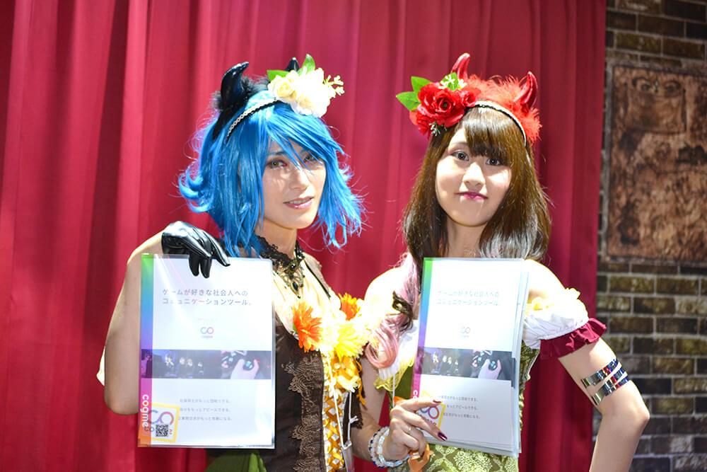 TGS2019会場で撮影したコスプレイヤー東雲ゆうささんと伊藤りかこさん02