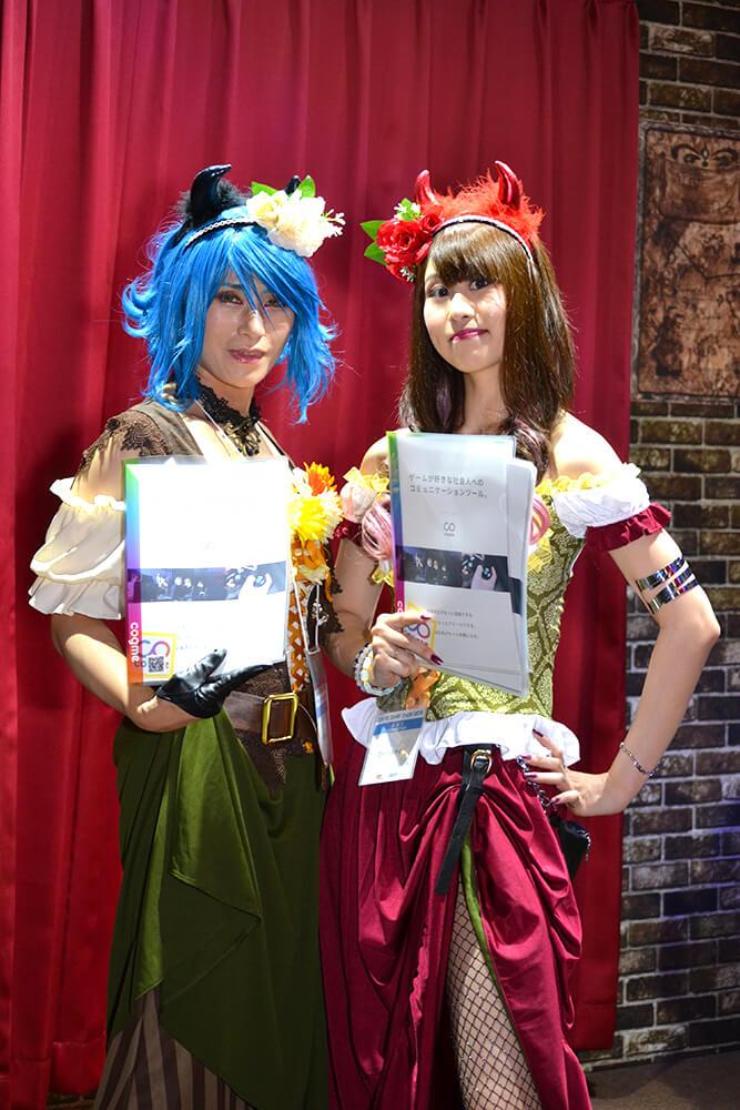 TGS2019会場で撮影したコスプレイヤー東雲ゆうささんと伊藤りかこさん04