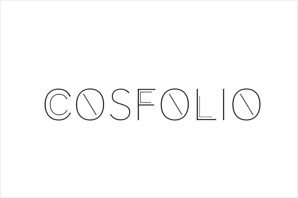 ポートフォリオサイトCOSFOLIOのロゴ