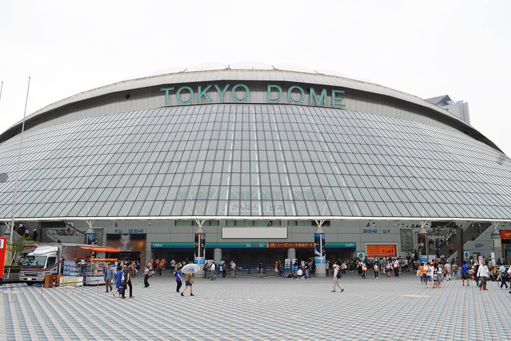 コスプレフェスタTDCの会場の東京ドームシティ