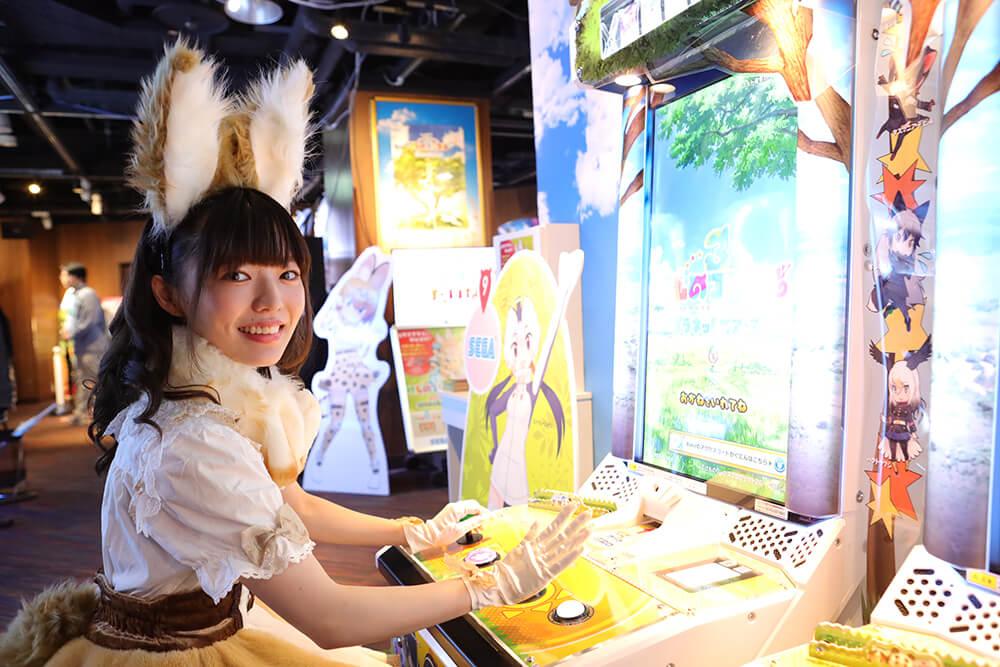 セガ池袋 GIGOに来店したはなまるアニマルの和泉さん02