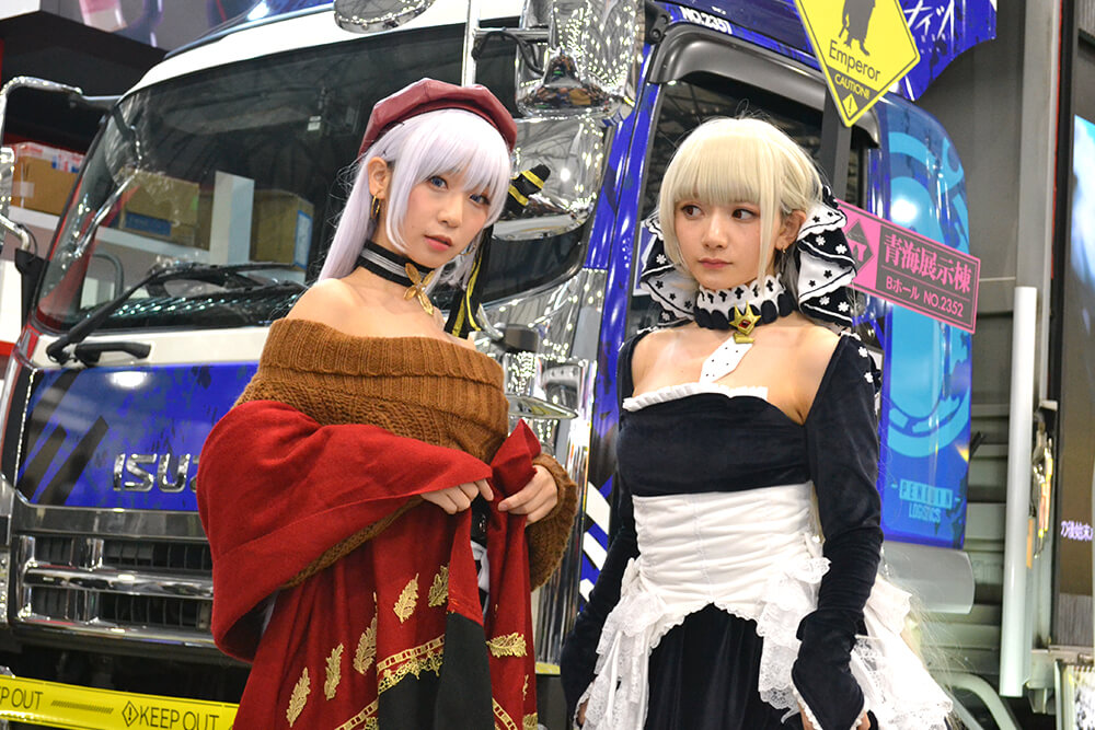 コミケ97のコスプレイヤー尊みを感じて桜井と伊織もえ002