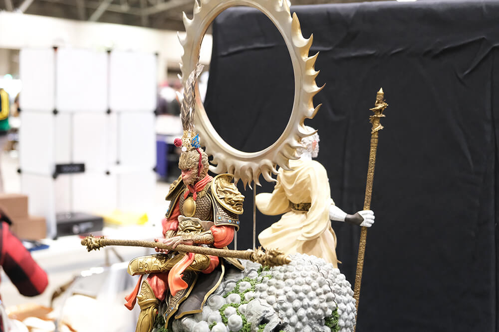 ワンダーフェスティバルに展示されているフィギュア004