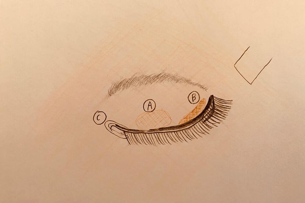 アイメイクの解説03