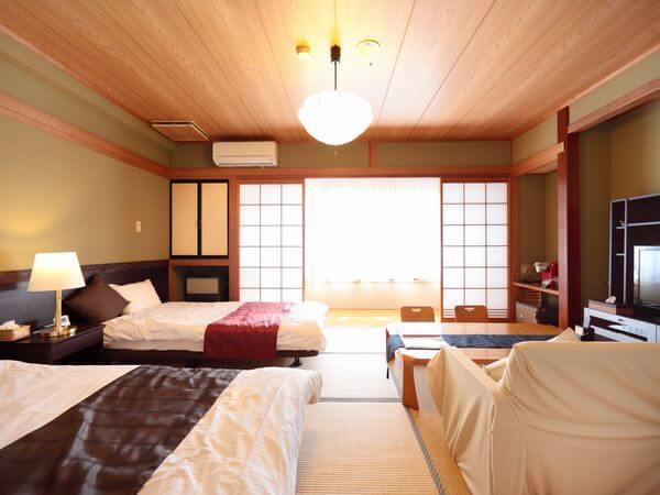 菱野温泉薬師館の宿泊部屋