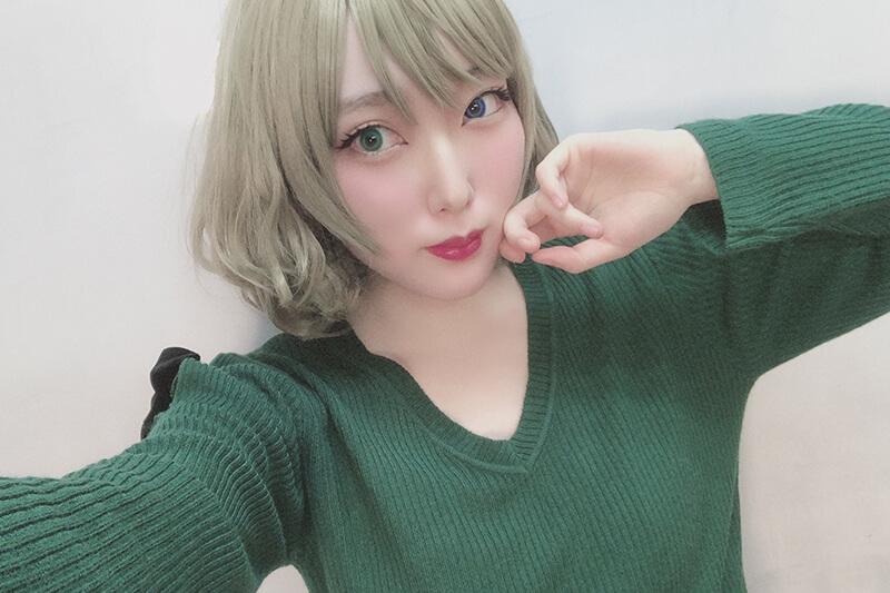 【‐アイマス‐高垣 楓】メイクを半顔メイクでご紹介!メイク動画あり