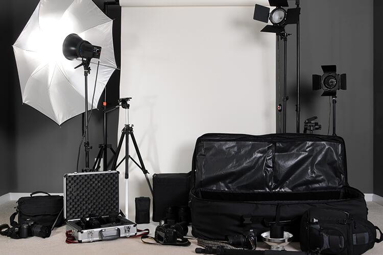 カメラマンのカメラ機材