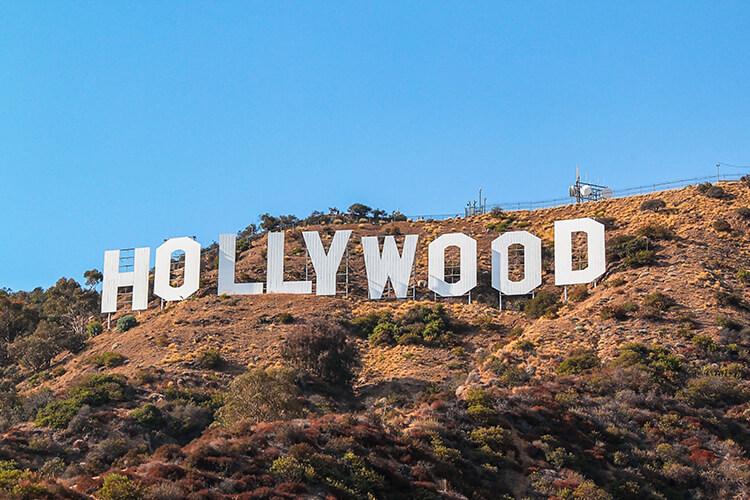 LAのハリウッドサイン