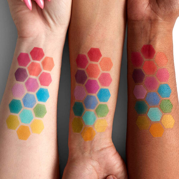 NYX Professional Makeup(ニックス プロフェッショナル メイクアップ) UT シャドウ パレット 04 カラー・ブライト アイシャドウ
