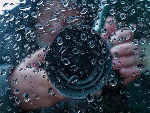 コスプレ雨撮