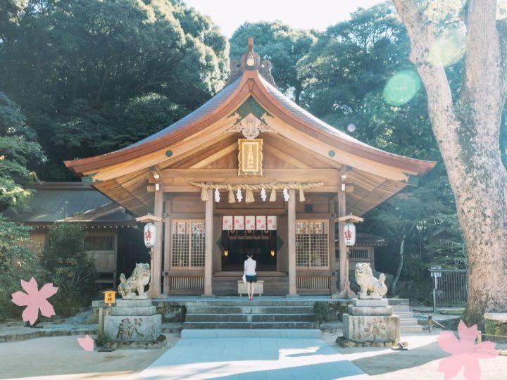 鬼滅の刃の聖地である竈門神社