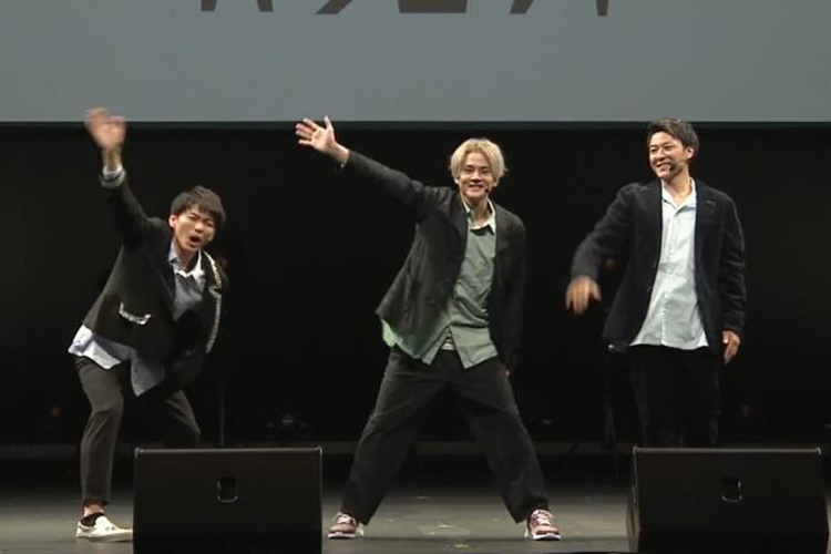 人気ダンスボーカルユニット・Leadのオンラインイベント『~TOKYO MX Presents~「Leadバラエティ」オンラインイベント』に登場したメンバー