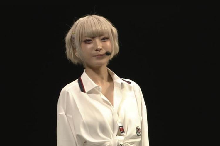 人気ダンスボーカルユニット・Leadのオンラインイベント『~TOKYO MX Presents~「Leadバラエティ」オンラインイベント』に登場したコスプレイヤー火将ロシエル