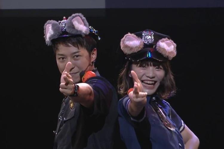 人気ダンスボーカルユニット・Leadのオンラインイベント『~TOKYO MX Presents~「Leadバラエティ」オンラインイベント』に登場した谷内・岩崎ペア