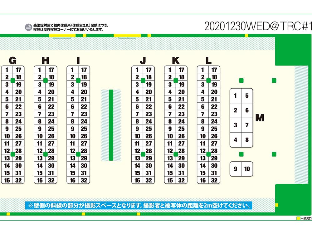 コスホリ29参加サークル配置リストのG~M