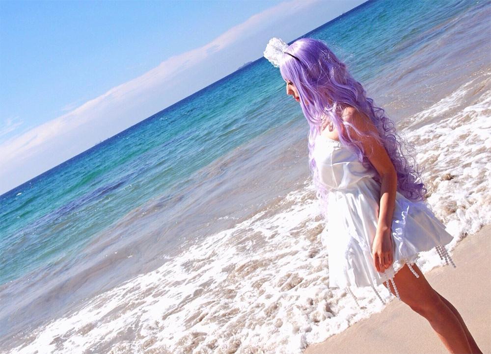 クラゲ姫コスプレ