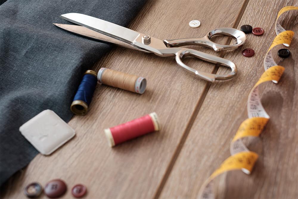 衣装制作の準備