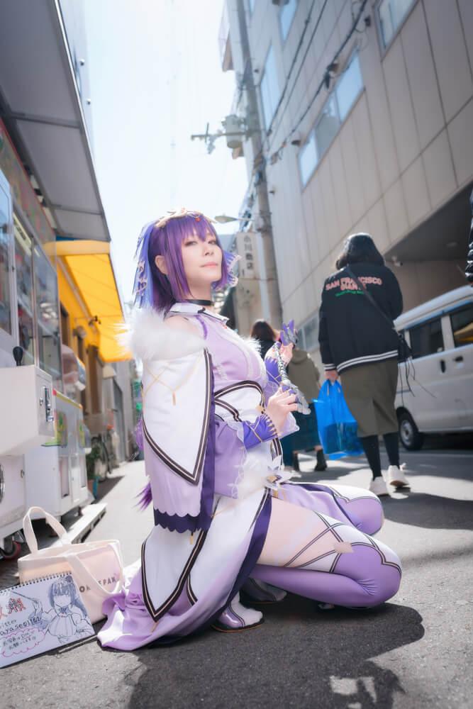 スカサハ=スカディ「Fate/Grand Order」のコスプレをするコスプレイヤー綾瀬さん005