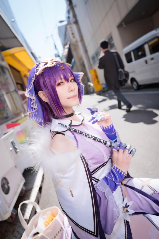 スカサハ=スカディ「Fate/Grand Order」のコスプレをするコスプレイヤー綾瀬さん007