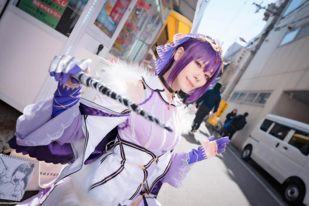 スカサハ=スカディ「Fate/Grand Order」のコスプレをするコスプレイヤー綾瀬さん003