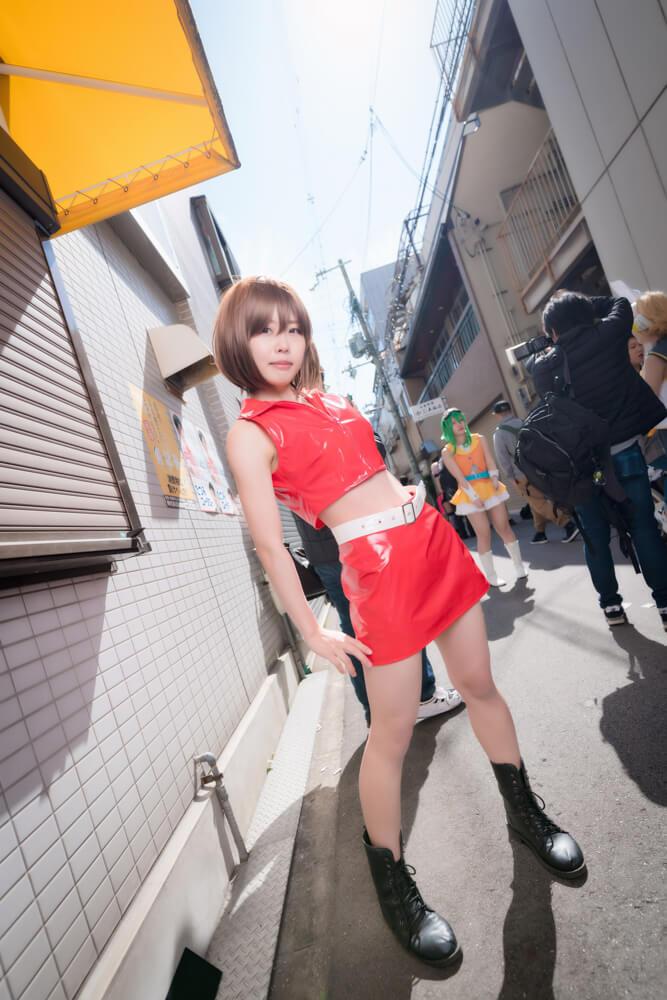 神戸のアイドル「匿名ミラージュ」メンバーのコスプレをするコスプレイヤーこゆたんさん004