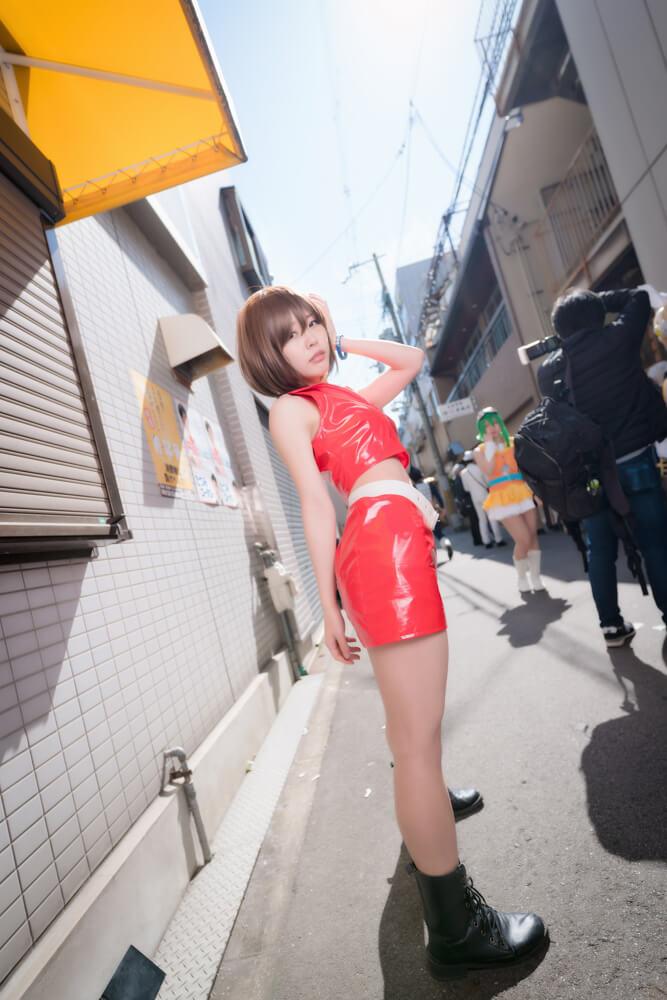 神戸のアイドル「匿名ミラージュ」メンバーのコスプレをするコスプレイヤーこゆたんさん005