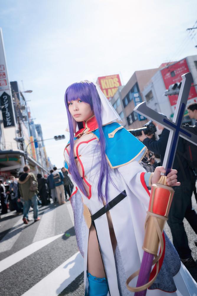 マルタ(ライダー)「Fate/Grand Order」のコスプレをするコスプレイヤーとたさん001