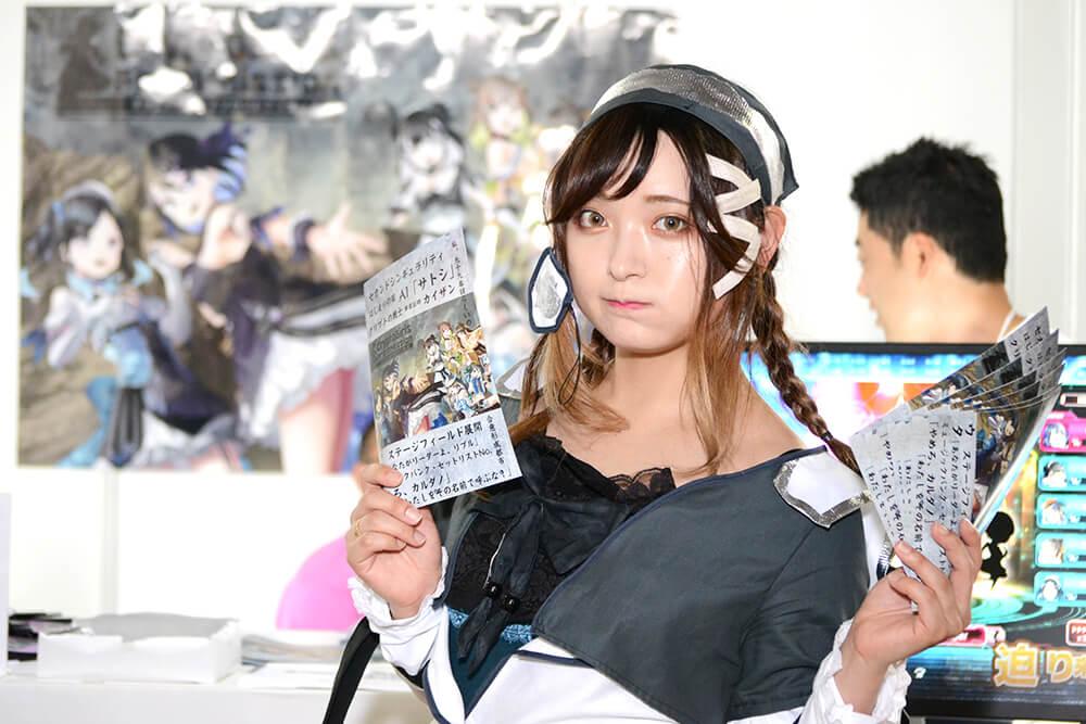 TGS2019会場で撮影したコスプレイヤー高嶺エルさん01