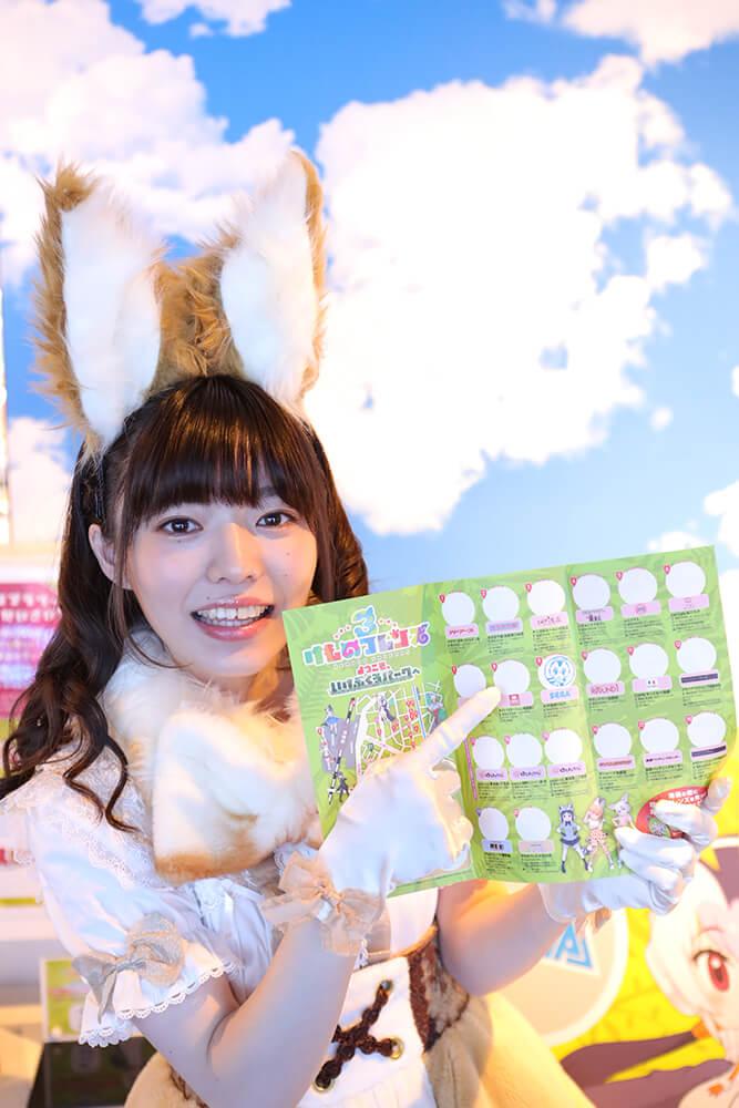 セガ池袋 GIGOに来店したはなまるアニマルの和泉さん03