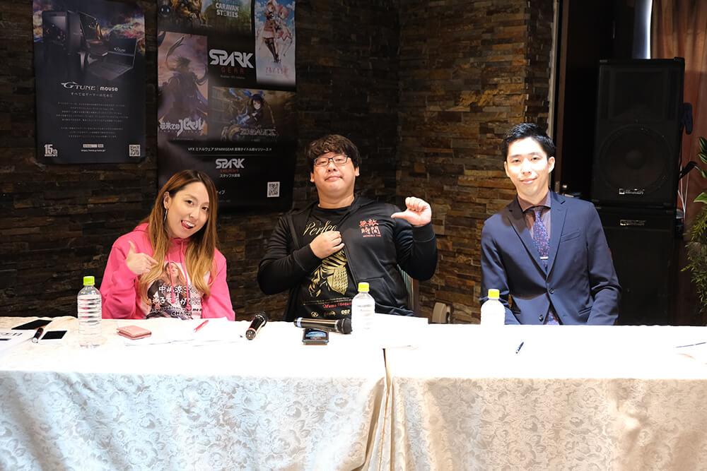 車椅子インフルエンサー中嶋 涼子さん、ゲームモノマネNOモーション星ノこてつさん、eスポーツキャスター岸 大河さん