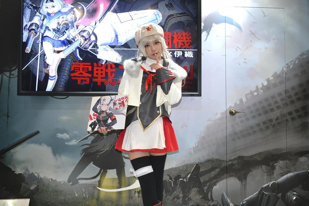 コミケ97のコスプレイヤー千葉チュチュ001