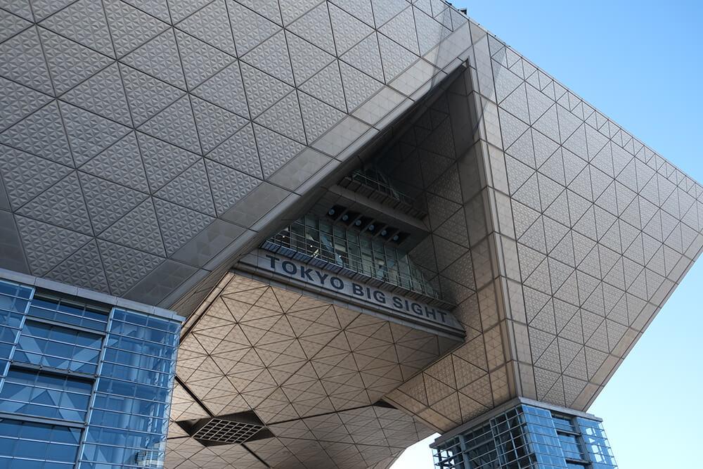 コミケ会場の東京ビッグサイト
