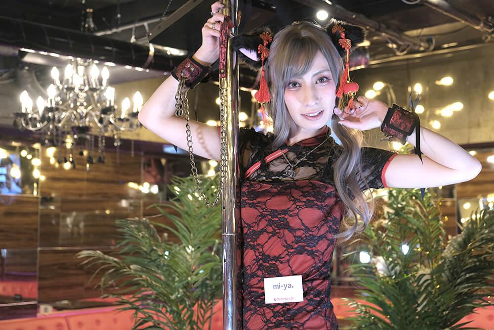 サンクプロジェクト新年会のコスプレイヤーmi-ya.