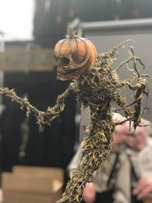 Monster Palooza(モンスター パルーザ)で展示されているかぼちゃの妖怪