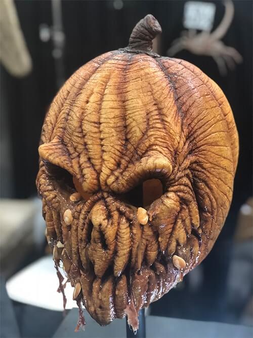 Monster Palooza(モンスター パルーザ)で展示されているかぼちゃの妖怪の顔