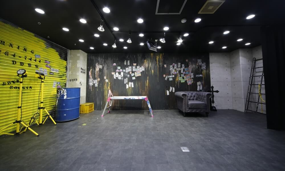 撮影スタジオ「cosbell(コスベル)」のLight Gスタジオのブース02