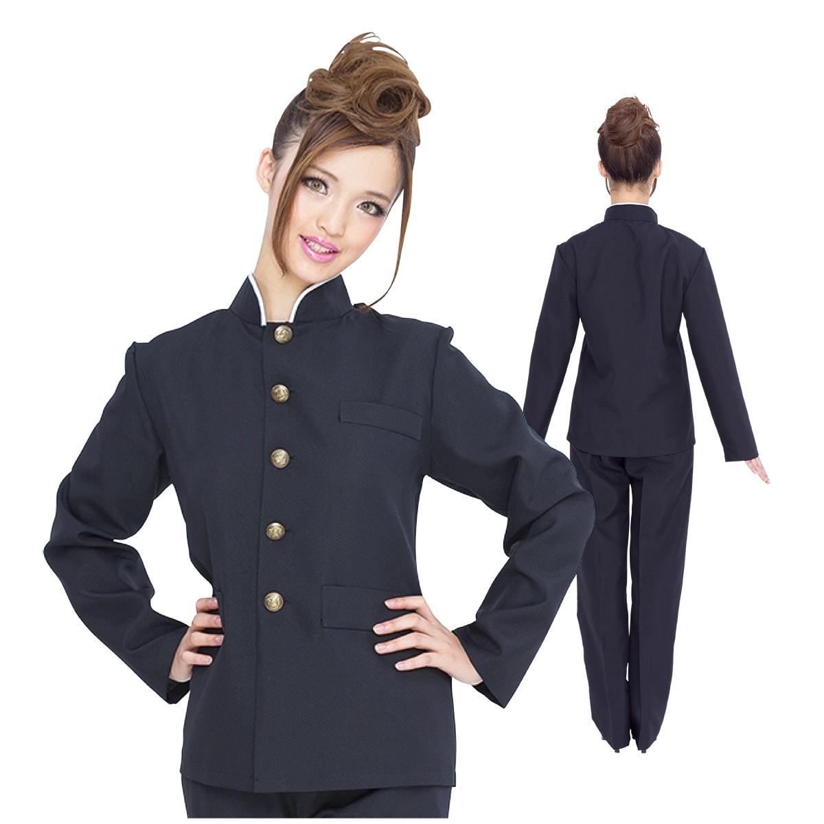 PUREネット通販で購入可能な男装に使えそうな女性用の学ラン