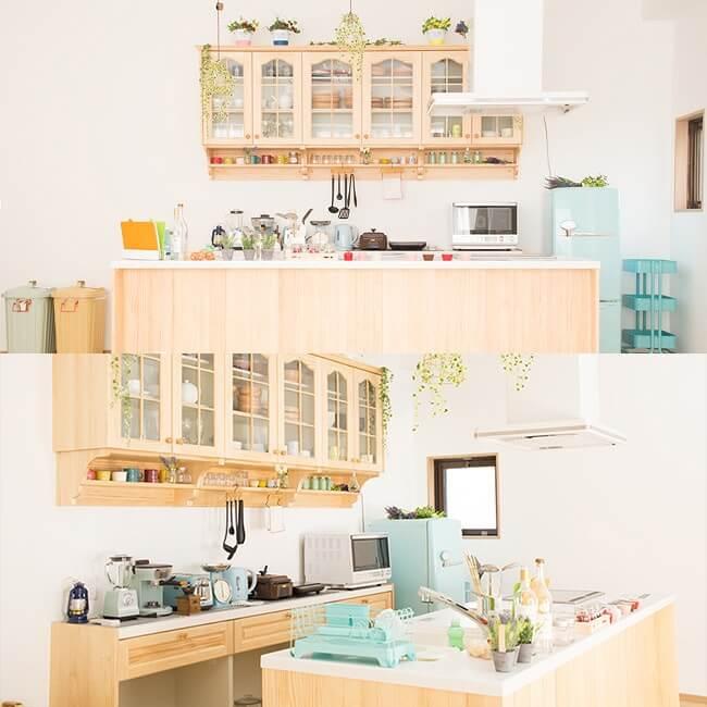 撮影スタジオ「スタジオクオリア大阪平野店」のLDKスタジオのブース01