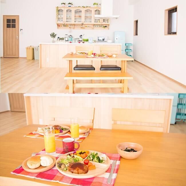 撮影スタジオ「スタジオクオリア大阪平野店」のLDKスタジオのブース02
