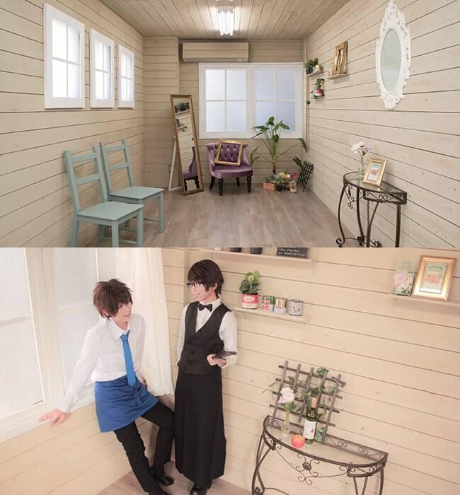 撮影スタジオ「スタジオクオリアなんば桜川店」のベーシックスタジオのブース03